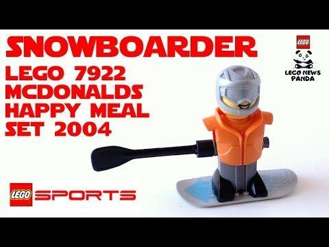 SNOWBOARDER Orange Vest - LEGO SPORTS 7922 - GRAVITY GAMES - McDonalds H...