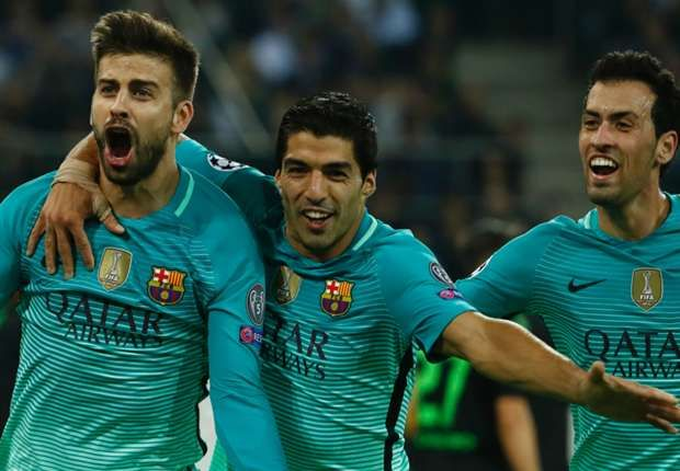 Borussia M'gladbach 1-2 Barcelona Highlights - Champions League 28-09-2016 - Soccer Highlights