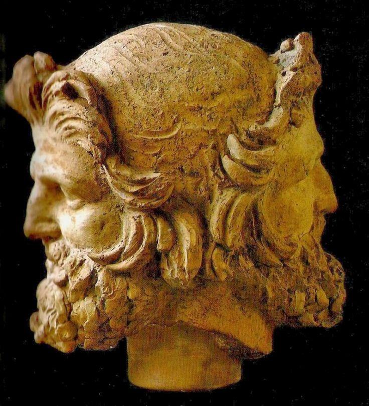 JANO. Dios de las puertas, los comienzos y los finales. Le otorgaron el primer mes de año, Ianuarius.