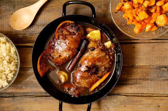 Magret de canard au poivre de Sichuan et à l'orange