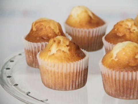 Cómo hacer cupcakes de vainilla sin glúten