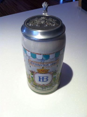 German Oktoberfest 1986 Collectors Beer Stein