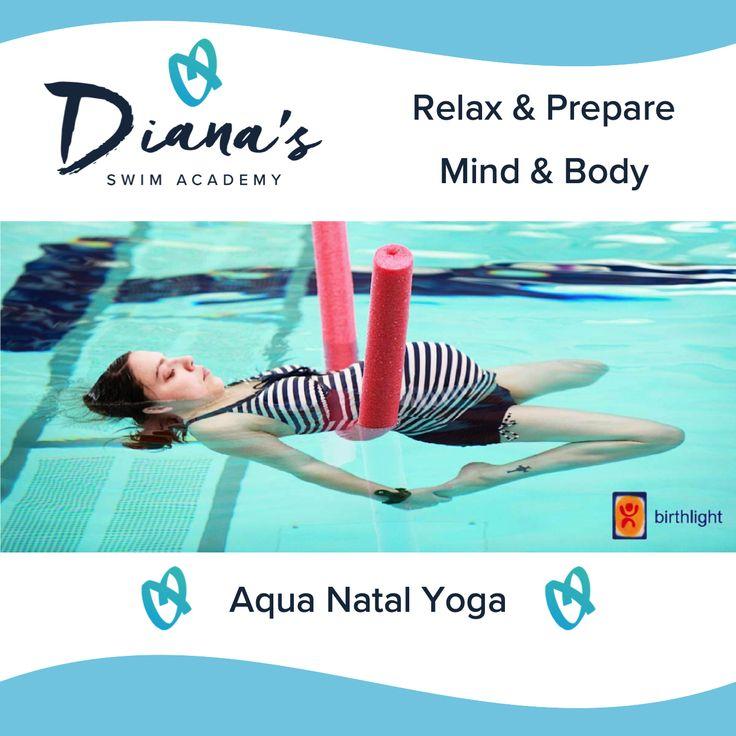 Aqua Natal Yoga in 2020 Swimming posters, Swimming