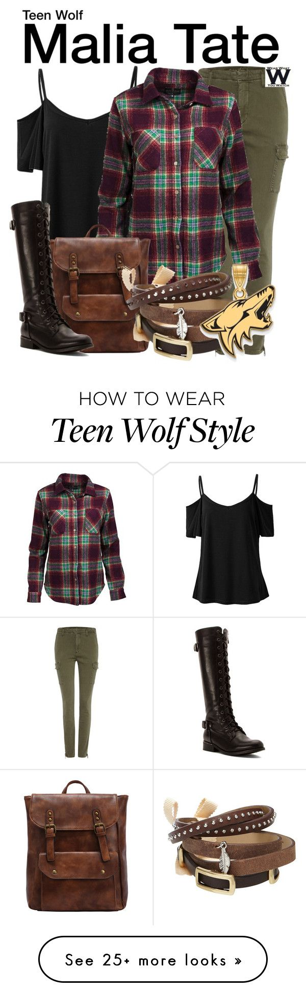 """""""Teen Wolf"""" by wearwhatyouwatch on Polyvore featuring Calvin Klein, United by Blue, TOKYObay, Wanted, LogoArt, television and wearwhatyouwatch"""