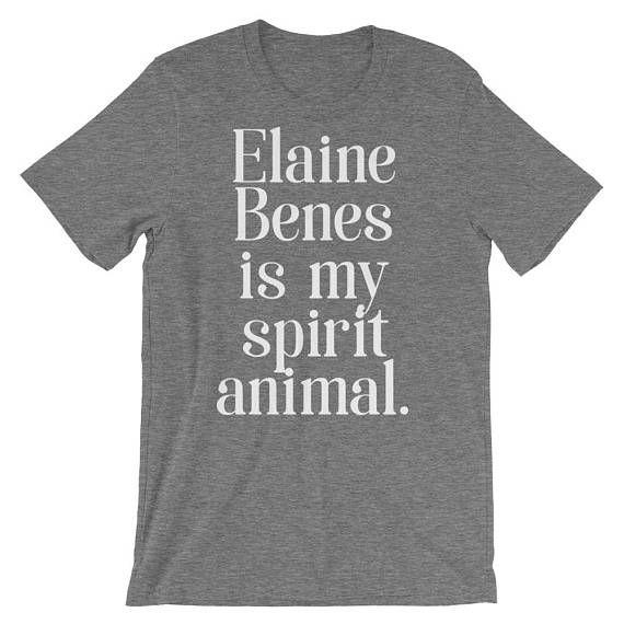 Elaine Benes is My Spirit Animal Elaine Benes Shirt Seinfeld