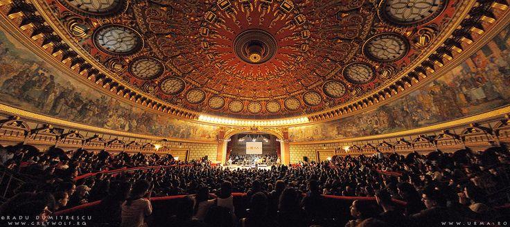 Ateneul Român - cum am realizat cea mai frumoasa fotografie de concert a mea