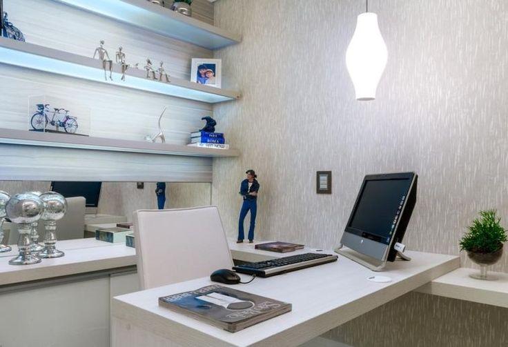 Home Office assinado por Nilda Merici.