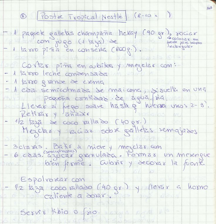 POSTRE TROPICAL NESTLE   #DULCE #POSTRES #POSTRE #PIÑA