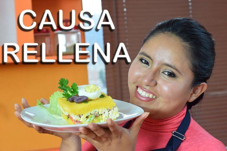 Como Preparar Causa Rellena de Pollo Peruano, Facil y Rapido
