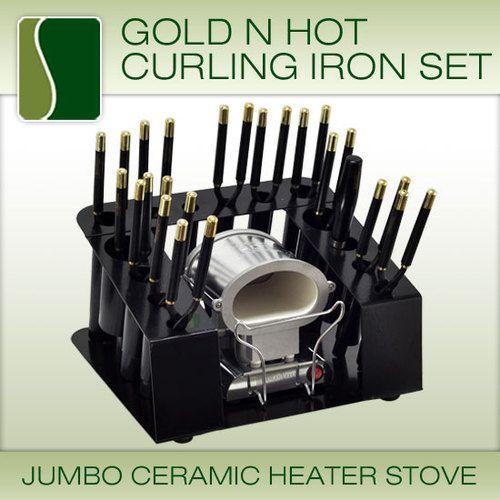 Gold N Hot Flat Iron On Natural Hair