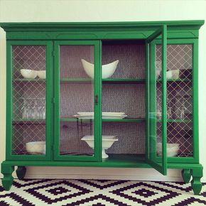 Inspirations déco et DIY pour transformer les vieux hauts de buffets + vaisseliers. Vous créerai de nouveaux meubles de rangement géniaux!