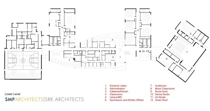 the-kensington-creative-and-performing-arts-high-school-smp-architects-and-srk-architects Lowel Level Plan