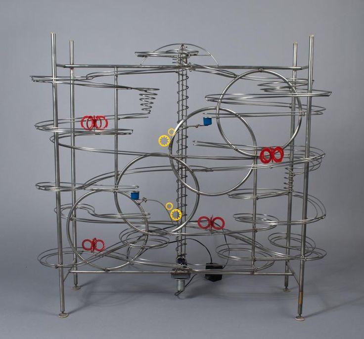 Jeffrey Zachmann Kinetic Table Sculpture ... I want one!
