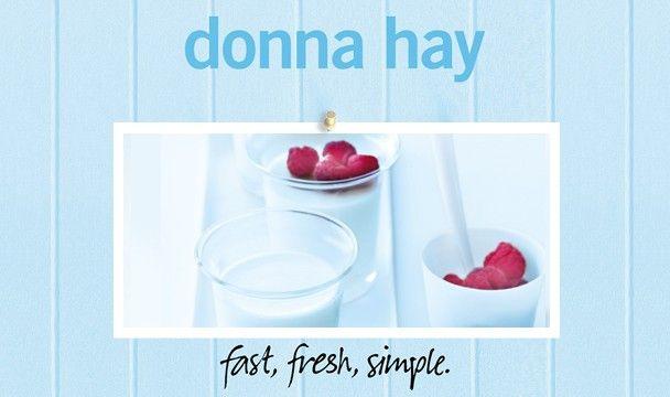 Lemon Pudding (panna cotta) Donna Hay-Fast Fresh Simple