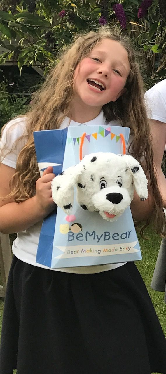 Build at home, no sew bears complete with bag, birth certificate and a heart  - gorgeous and a lovely party idea too (inexpensive and great quality)