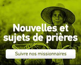Lettres de prières | Action Missionnaire