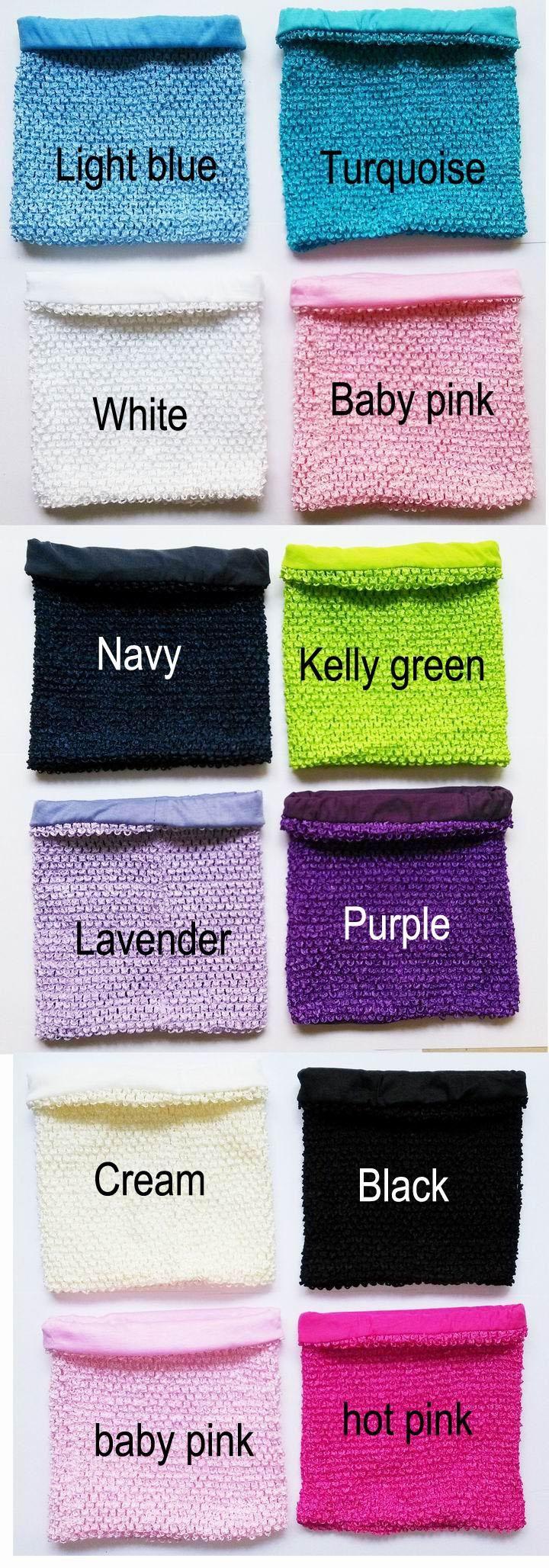 Wholesale 10x12 inches Large size lined Crochet tube top lined tutu top for girls' tutu dress crochet pettiskirt tutu tops 50pcs per lot free shipping, Free shipping, $3.1/Piece | DHgate Mobile