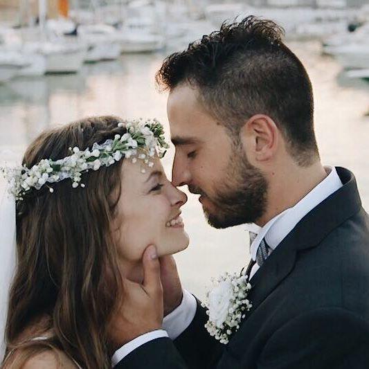 A+F // The sea and a lot of love 😍  .  .  .  .  #wedding #weddingday #realwedding #weddingvideophy #weddingvideographer #weddingseason #weddinginspiration #huffpostweddings #HuffPostIDo #thedailywedding #junebugweddings #wayupnorth #tyingtheknot #weddinglocation #rusticwedding #portrait #makeportraits #bride #groom #weddinginitaly #wonderfulplaces #beautifuldestinations #destinationwedding #followme #2become1video