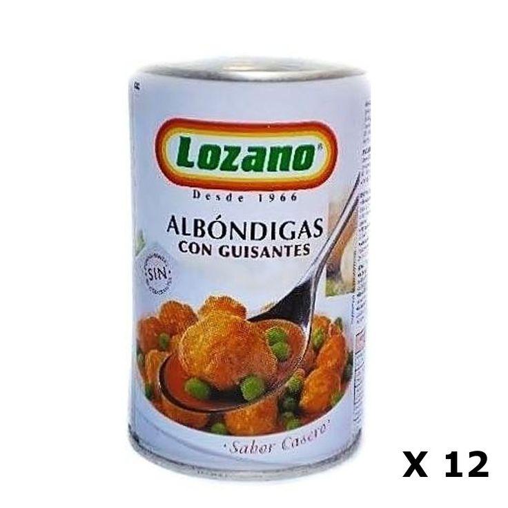 Bestelling Gehaktballen PN400 Gr - Lozano