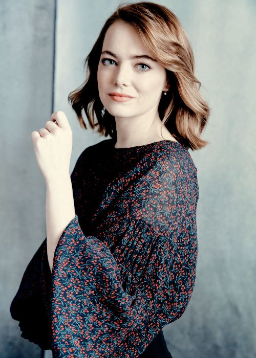 Emma Stone photographed by Austin Hargrave
