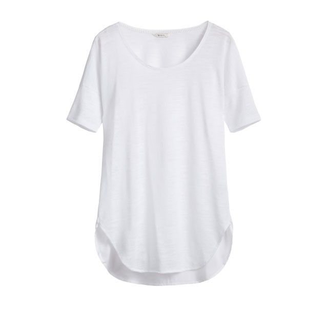 Sandwich Clothing Short Sleeve Jersey Top White