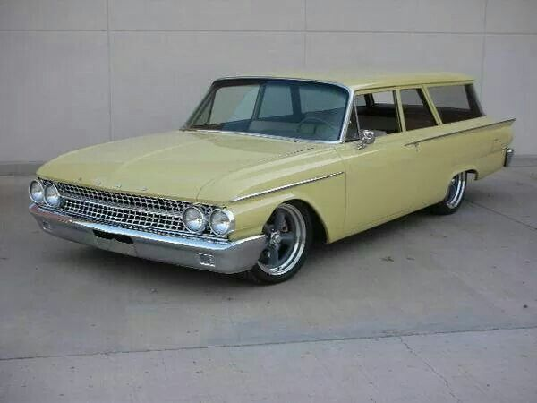 '60 to '62 Ford Galaxie Wagon 2dr