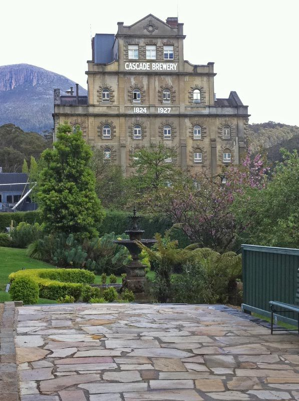 Cascade Brewery, Hobart, Tasmania had such a good time there very interesting to hear the history.