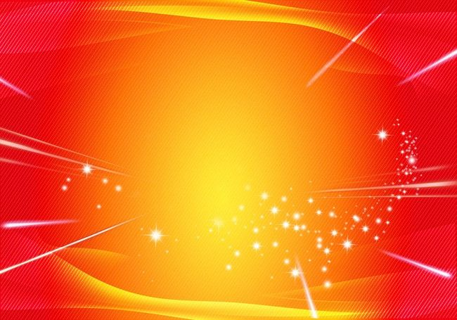 Red Yellow Gradient Background Stars Festive Fun In 2020