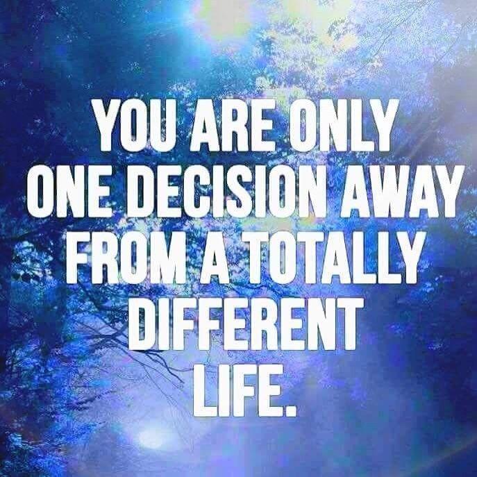 One decision   #learningmind   @learningmindcom
