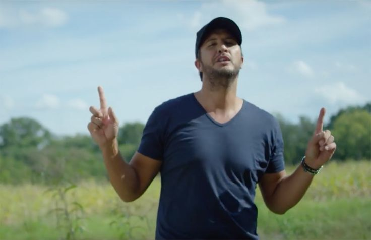 Luke Bryan gives farmers the props they deserve in this new song!