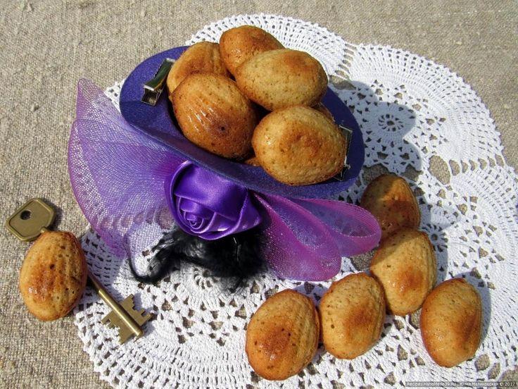 """Знаменитое кофейное печенье """"Мадлен"""" - пошаговый рецепт с фото."""
