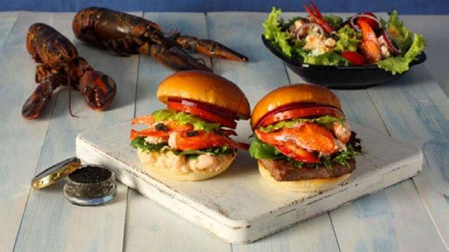 Wendy's Japan Offers Lobster and Caviar Burger on Premium Menu - Foodista.com