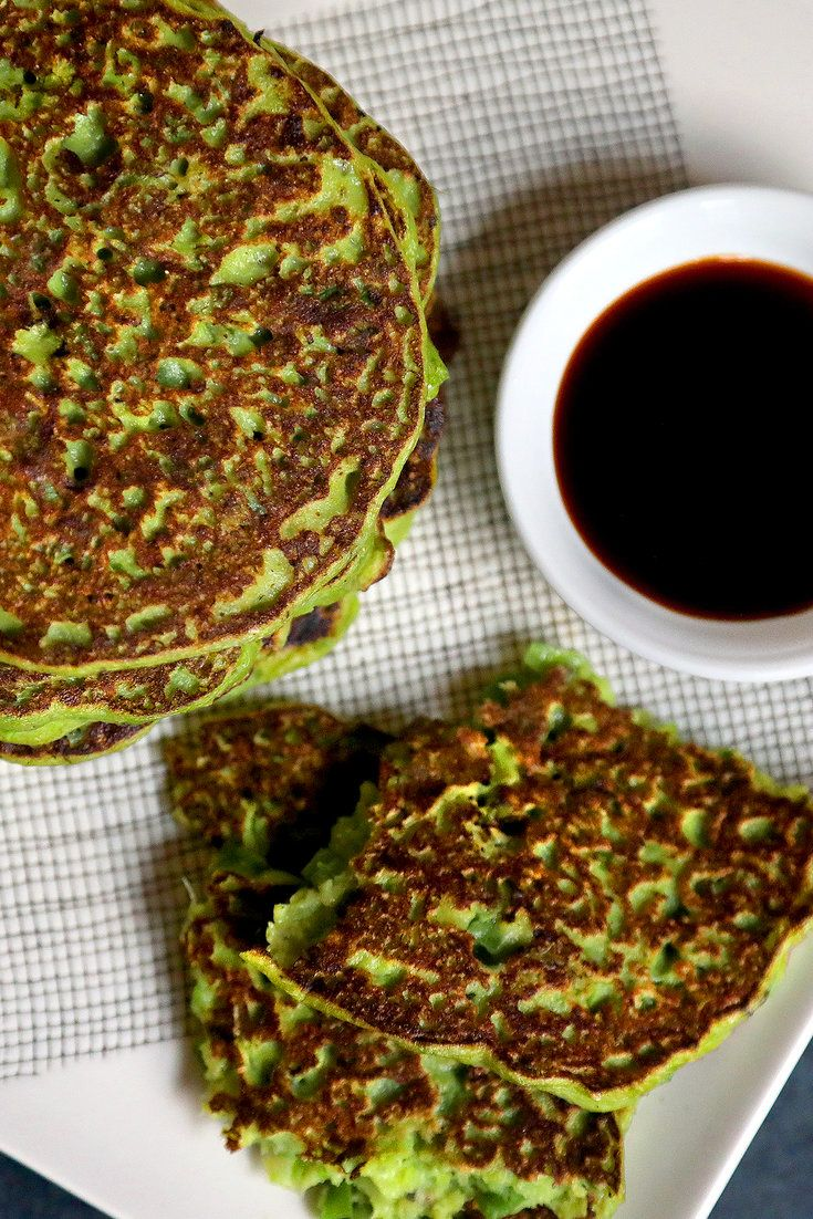 This isn't the dense scallion pancake you see served in Chinese restaurants, which is made with what amounts to bread dough. But this recipe is inspired by that pancake. Made with a simplified, scallion-laden batter, it is a fork-tender pancake reminiscent of a vegetable fritter. (Photo: Jim Wilson/NYT)