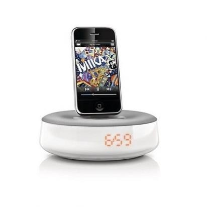 Sistema de audio hi fi con iphone y ipod docking