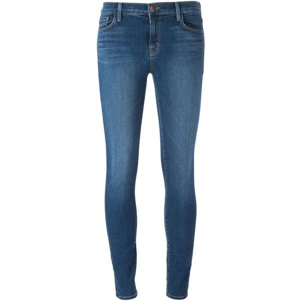 J Brand Skinny Jeans ($298) ❤ liked on Polyvore featuring jeans, bottoms, pants, store, blue, j brand, blue jeans, j-brand skinny jeans, skinny leg jeans and j brand jeans