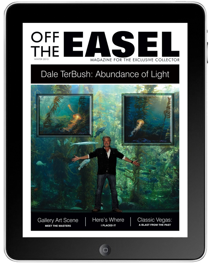 Off the Easel Magazine, EC Galleries' very own art collecting magazine available on your iPad!