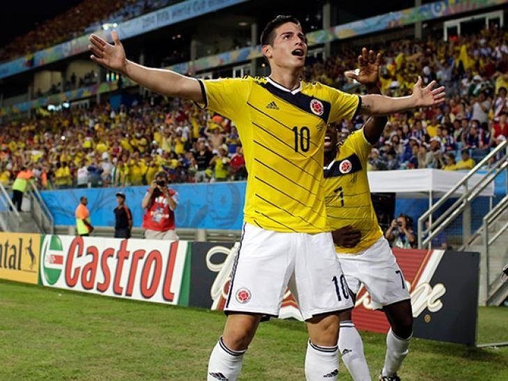 ¡Histórico! James Rodríguez goleador de Brasil 2014 con seis tantos | Brasil 2014. @FrankDavid0510