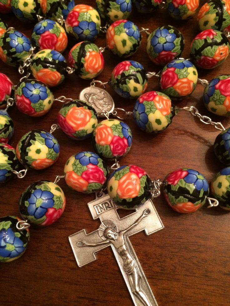 A personal favorite from my Etsy shop https://www.etsy.com/listing/224153842/wall-rosary