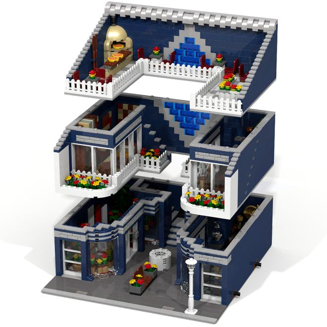 Welcome to the LEGO Modular Mall! The Grand Emporium (Set No. 10211) represented the good old days, now it's time for the new Modular Mall, which offers contemporary and moder...