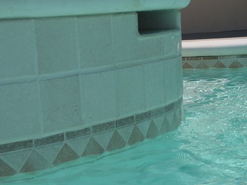 Water Pool Tiles : Best new house pool deck images on pinterest