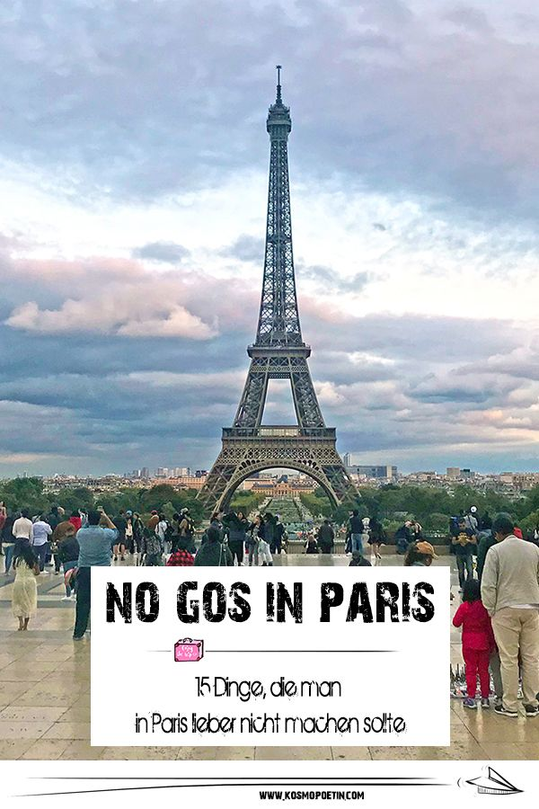 Wer zum ersten Mal nach Paris reist, fragt sich ni…