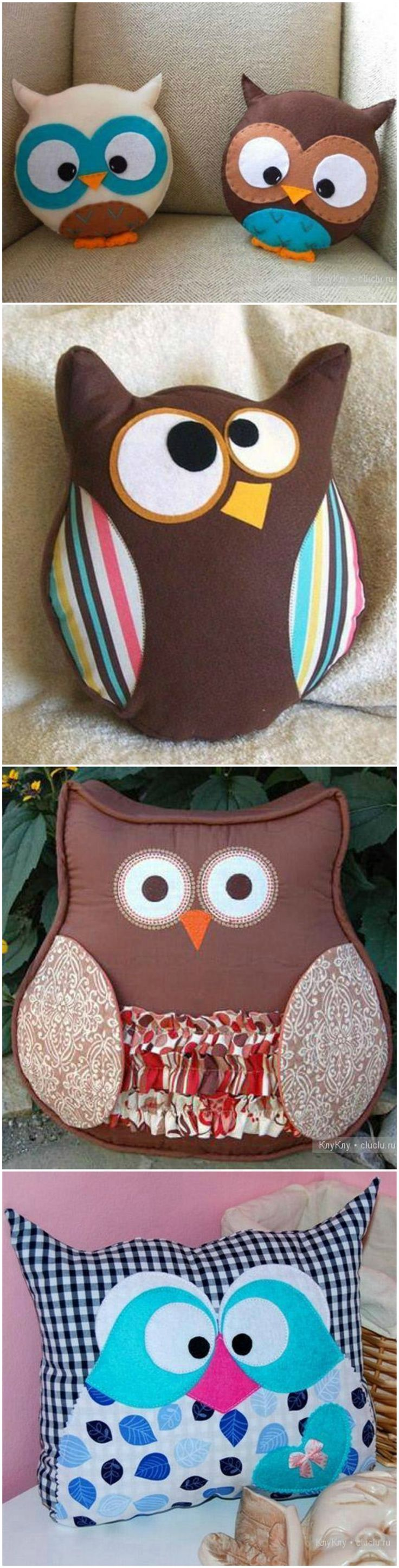 DIY Cute Owl Pillow