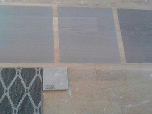 how to stain grey hardwood floors
