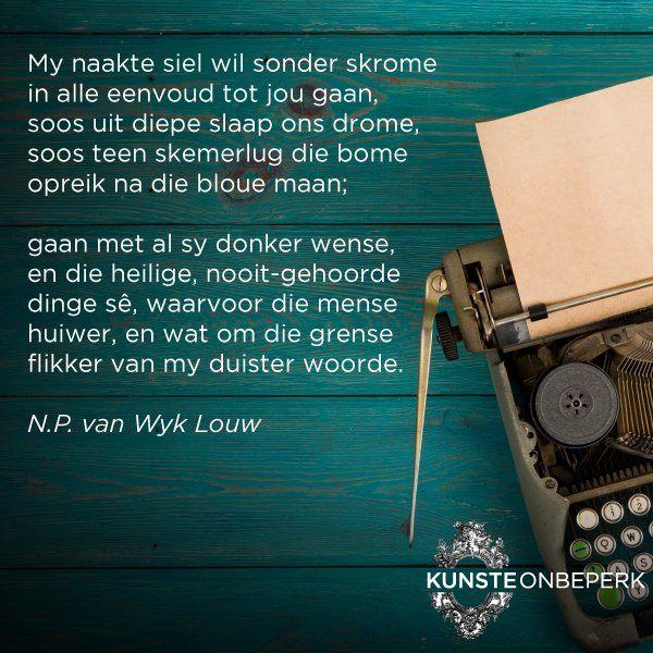 Image result for np van wyk louw grense