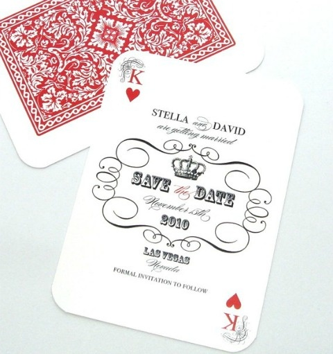 Card - Great for a Vegas Themed wedding! Could we use this for place seating cards for a Bat Mitzvah?
