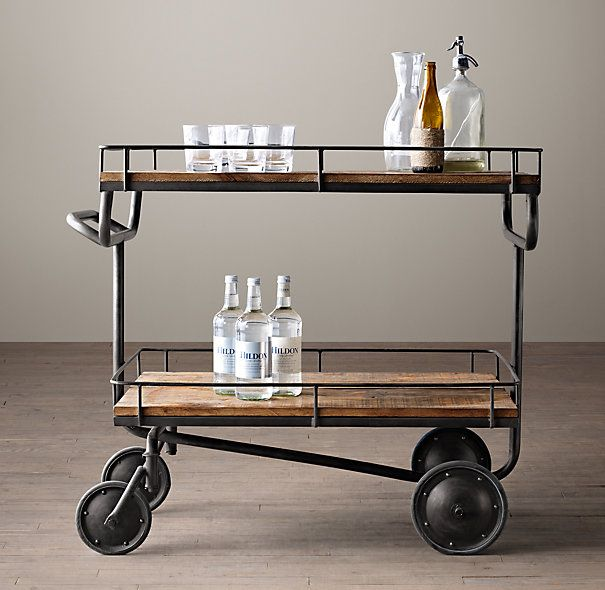 Bar Carts ~ Some favorites, with a twist! | Laurel & Wolf
