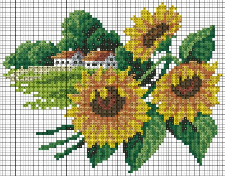 Landscapes nature (embroidery) floral calendar. Discussion on LiveInternet - Russian Service Online Diaries