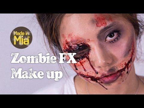 Halloween Zombie FX Makeup 할로윈 좀비 메이크업 by.미아