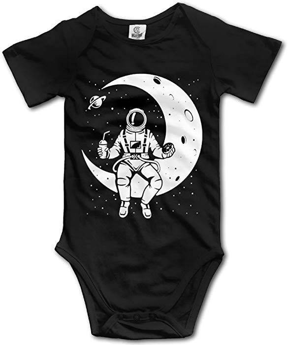 b6e727f76805 Amazon.com  AquarScorp Astronaut NASA Moon Space Infant Baby Short ...