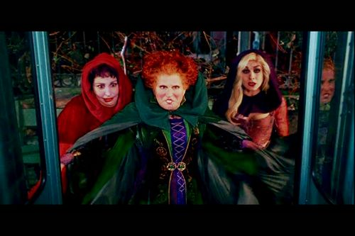 """Must watch """"Hocus Pocus"""" every year during the Fall season"""